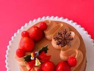 子供が大好き!クリスマスのチョコレートケーキ♡