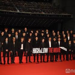 2016年7月4日実施、映画「HiGH&LOW THE MOVIE」完成披露プレミアイベントより