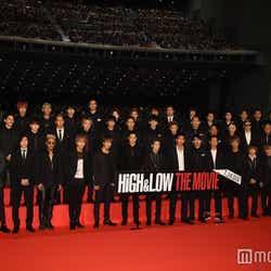 映画「HiGH&LOW THE MOVIE」舞台挨拶の様子(C)モデルプレス