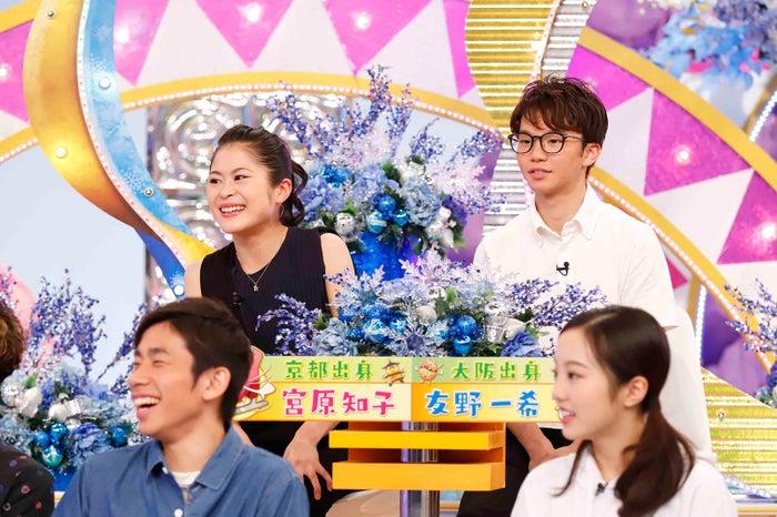 宮原知子、友野一希(C)関西テレビ
