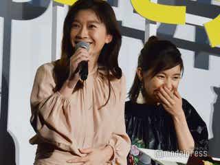 篠原涼子「お腹鳴っちゃった!」舞台挨拶で天然炸裂<今日も嫌がらせ弁当>