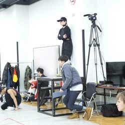 12月18日ダンスリハーサル(画像提供:avex)