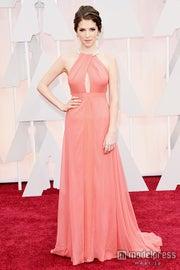 ピンクドレスでレッドカーペットに登場したアナ・ケンドリック/photo:Getty Images【モデルプレス】