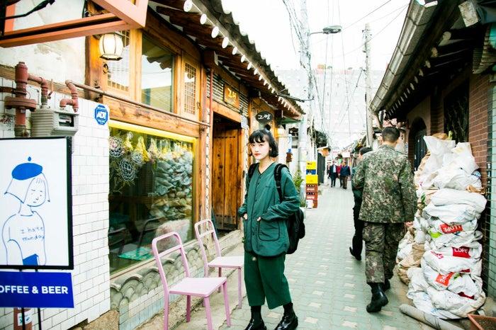 韓国にはおしゃれなレトロカフェがいっぱい/高井香子さん(提供画像)