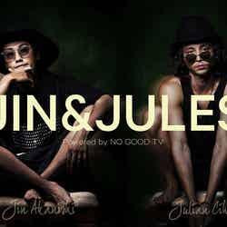 赤西仁、Julian Cihi(C)JIN&JULES Powered by NO GOOD TV