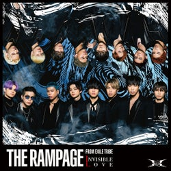 THE RAMPAGE from EXILE TRIBEニューシングル「INVISIBLE LOVE」(4月22日リリース)ジャケット写真(提供画像)