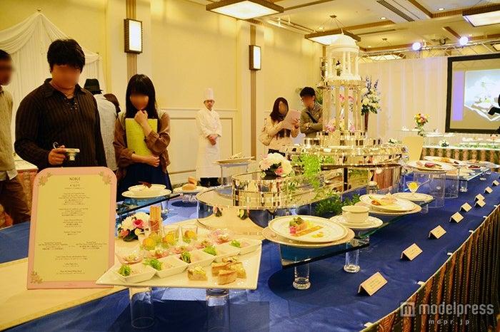 食事・ドリンクの展示スペース