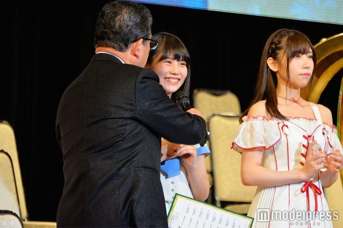 「AKB48 49thシングル 選抜総選挙」にてランクインの喜びを語る小畑優奈 (C)モデルプレス