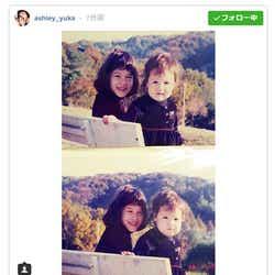 モデルプレス - 水原希子&佑果、美人姉妹の幼少期公開「昔から美しい」