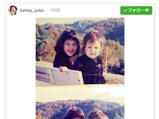 水原希子&佑果、美人姉妹の幼少期公開「昔から美しい」