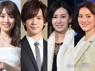(左から)泉里香、DAIGO、北川景子、安座間美優 (C)モデルプレス