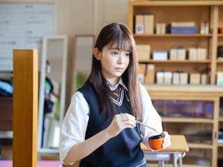 久間田琳加、鈴木伸之の気遣いに感謝「緊張がほぐれた」<「お茶にごす。」インタビュー>
