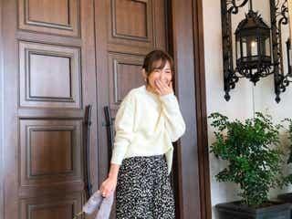 「花柄スカート」でマンネリ解消!冬アイテム×軽やかスカートの着こなし9選