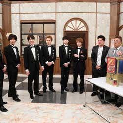 Kis-My-Ft2、サンドウィッチマン、中居正広(画像提供:テレビ朝日)