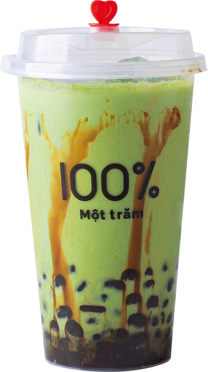 宇治抹茶タピオカミルク M550円/L650円/画像提供:オペレーションファクトリー