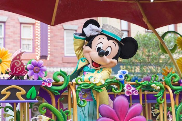 ミッキー(C)Disney