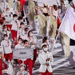 「日本」入場行進/Photo by Getty Images