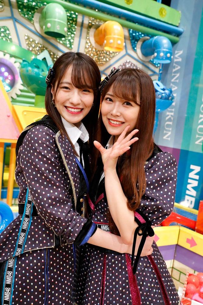 (左から)小嶋花梨、白間美瑠(写真提供:カンテレ)