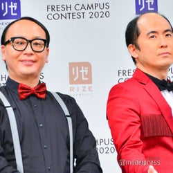 (左から)たかし、斎藤司(C)モデルプレス