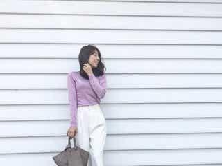 かわいいを味方に♥ 絶対的フェミニン「ラベンダー×ホワイト」配色をマスターせよ!