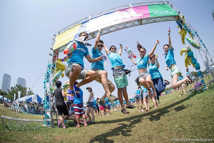 過去開催時の様子/画像提供:Water Run Festival 2019運営事務局