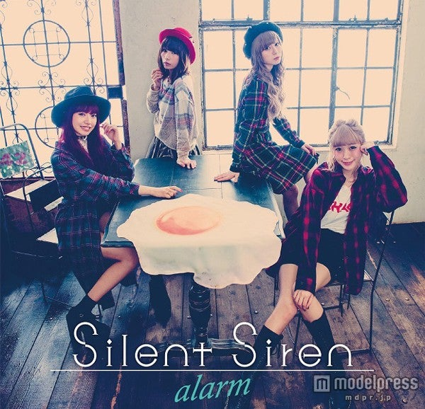 Silent Siren「alarm」(11月4日発売)初回限定盤(DVD付き)