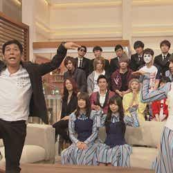 明石家さんま&日向坂46(C)NHK