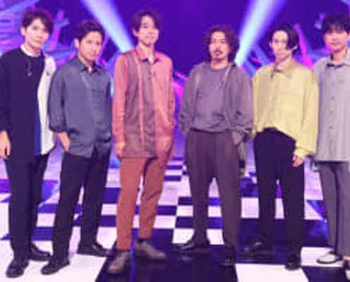 V6が「MUSIC FAIRスペシャルメドレー」を披露!最後には、井ノ原快彦からファンへ熱いメッセージも