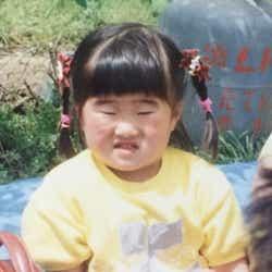 4歳のガンバレルーヤ・よしこ(写真提供:テレビ朝日)