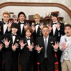 Kis-My-Ft2&サンドウィッチマン (C)テレビ朝日