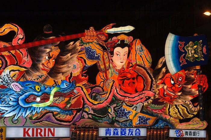 青森ねぶた祭(提供画像)