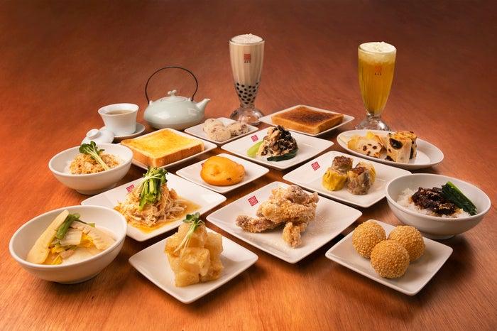 渋谷マークシティ店限定メニューは台湾小皿料理も充実/画像提供:春水堂