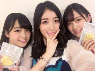 """SKE48松井珠理奈、""""板挟み""""ならぬ""""坂挟み""""「貴重な3人」の声"""