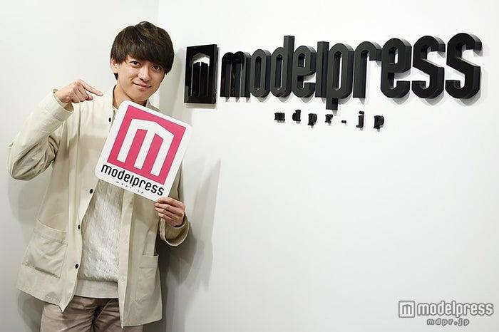 森祐介さんがモデルプレスに来社!