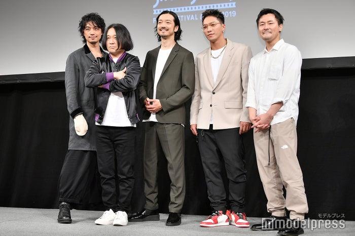 斎藤工、永野、金子ノブアキ、SWAY、清水康彦監督 (C)モデルプレス
