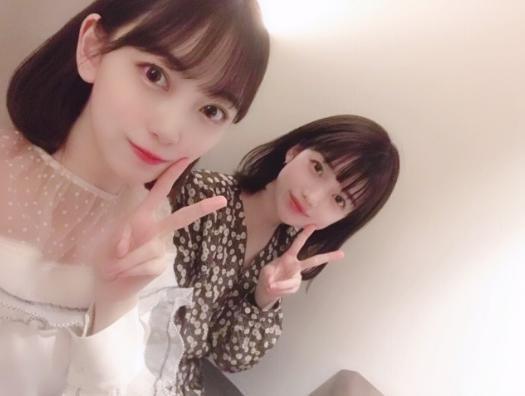 堀未央奈、弘中綾香アナウンサー/堀未央奈オフィシャルブログより