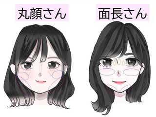 顔型別のお悩みまるっと解決!丸顔さん&面長さん全員必見♡可愛く見える錯覚メイク