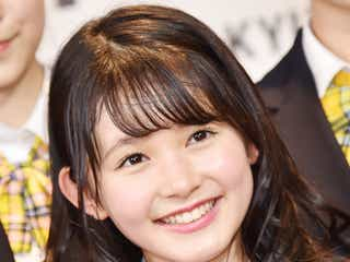 「nicola」久間田琳加、初舞台で即興演技に挑戦