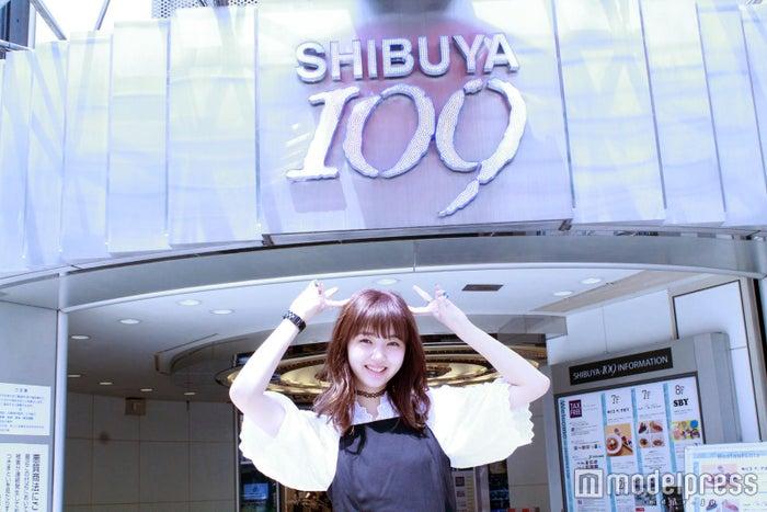109でお買い物企画に挑戦した江野沢愛美