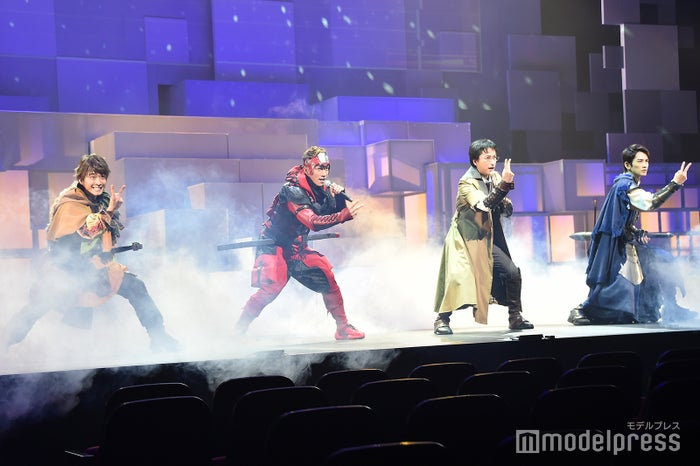 舞台「勇者のために鐘は鳴る」公開ゲネプロより (C)モデルプレス