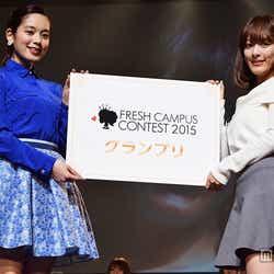 モデルプレス - 日本一の女子大新入生が決定「FRESH CAMPUS CONTEST 2015」