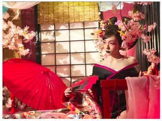 加護亜依「今迄にない私」色気溢れる花魁姿を披露