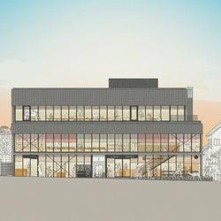 「鹿猿狐ビルヂング」中川政七商店・奈良に初の複合施設、猿田彦珈琲やすき焼き屋も出店