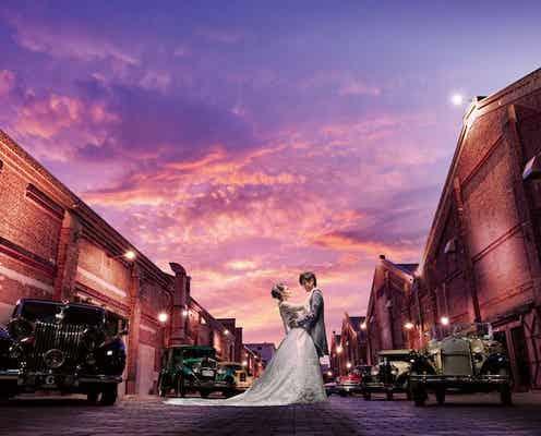 ユミカツラ 結婚フォトをプロデュース 〝映画のワンシーン〟のような演出