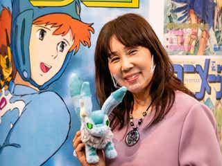 「アニメージュとジブリ展」本日開幕、ナウシカ役・島本須美があの「名シーン」再現
