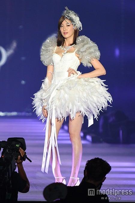 「KANSAI COLLECTION 2014 AUTUMN&WINTER」でSEXYなランジェリー姿を披露したAFTERSCHOOLのジュヨン【モデルプレス】