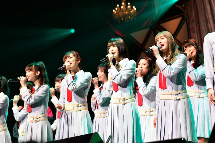 NGT48「第8回 AKB48紅白対抗歌合戦」(C)AKS