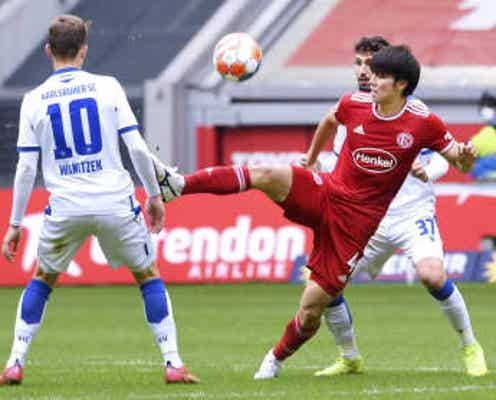 田中は後半途中まで出場 チーム勝利、ドイツ2部リーグ