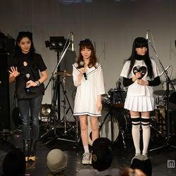 (左より)佐藤さき、中田クルミ、木村ミサ、ゆら、瀬戸あゆみ