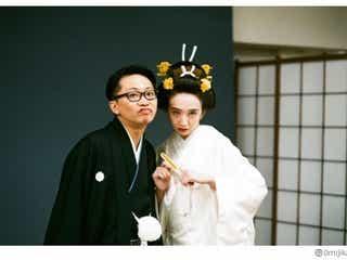 長井短、夫・亀島一徳と挙式を報告 白無垢姿も披露「マジで幸せ」